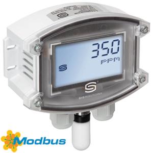 Billede af Modbus CO2 | VOC | fugt | temperatur | display | IP65