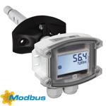 Billede af Modbus fugt- temperaturføler til kanal | display | ± 1,8%