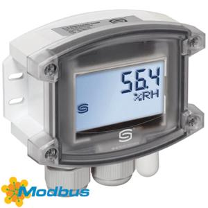 Billede af Modbus fugt- temperaturføler med display | IP65