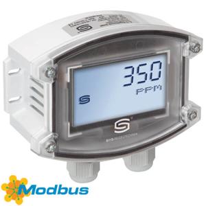 Billede af Modbus CO2 føler med display IP65