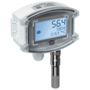 Billede af Fugtføler | 4-20mA | udskiftelig sensor | Display | IP65 | Høj nøjagtighed ± 1,8%