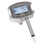 Billede af Fugt- temperaturføler | 0-10V | Display | IP65 | Høj nøjagtighed ± 1,8%
