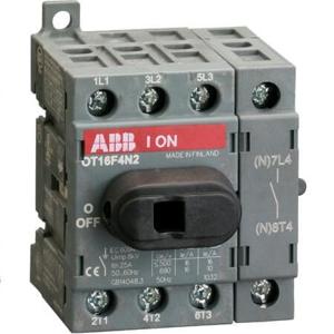 Billede af Hovedafbryder 16A | 4pol | montering på bundplade eller DIN skinne