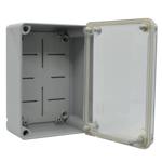 Billede af Monteringskasse | 120x162x72 mm | transparent låg | mini