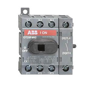 Billede af Hovedafbryder 40A | 4pol | montering på bundplade eller DIN skinne