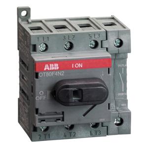 Billede af Hovedafbryder 63A | 4pol | montering på bundplade eller DIN skinne