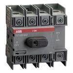 Billede af Hovedafbryder 100A | 4pol | montering på bundplade eller DIN skinne