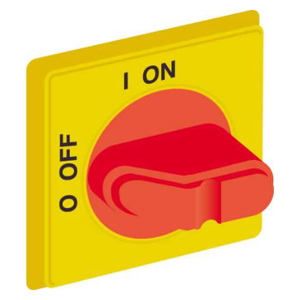 Billede af Drejegreb gul/rød | kontakt sæt monteres bag på drejegreb