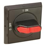 Billede af Drejegreb grå/rød | kontakt sæt monteres bag på drejegreb
