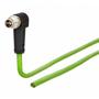 Billede af Vinklet M12 position of coding 135° ethernet kabel 8 polet -> fri ende | 2m