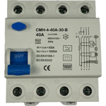 Billede af Type B | HPFI | fejlstrømsafbryder 40A | 30mA | AC/DC