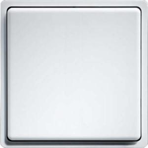 Billede af Trådløs Tryk | 1 Vippe med dobbelt funktion | Enocean protokol | Renhvid med glans