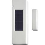 Billede af Trådløs vindue | dørkontakt. Med solarcelle. Renhvid. Sælges så længe lager haves.