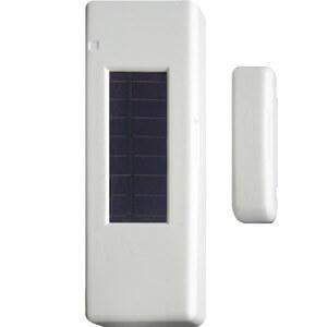 Billede af Trådløs vindue   dørkontakt. Med solarcelle. Renhvid. Sælges så længe lager haves.