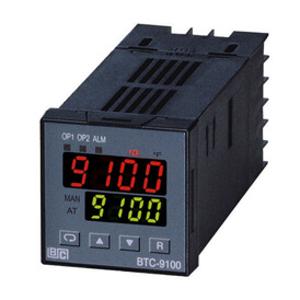 Billede af Controller 4-20mA indgang   Out 1 + Out 2 + Alarm = relæ   Forsyning 24V