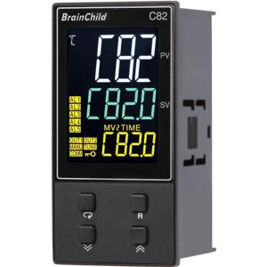 Billede af PID controllere | Out 1+2 = relæ | Alarm 2+3 = relæ | 6 event indgange | forsyning = 230V