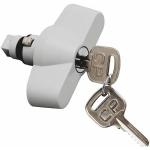 Billede af Låsbart vred med 2 nøgler